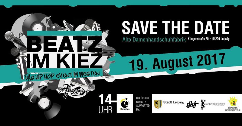 Beatz im Kiez 2016 - Save the date